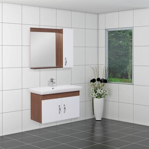 Kare Banyo Vega 85 Cm Banyo Dolabı Mdf