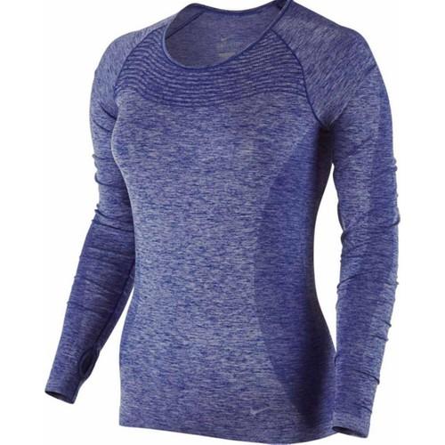 Nike Dri-Fit Knit Kadın Uzun Kollu Sweatshirt