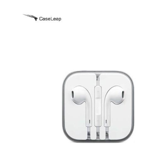 Case Leap Apple iPhone 5/6/6Plus/iPad/iPod Mikrofonlu Kulaklık Beyaz