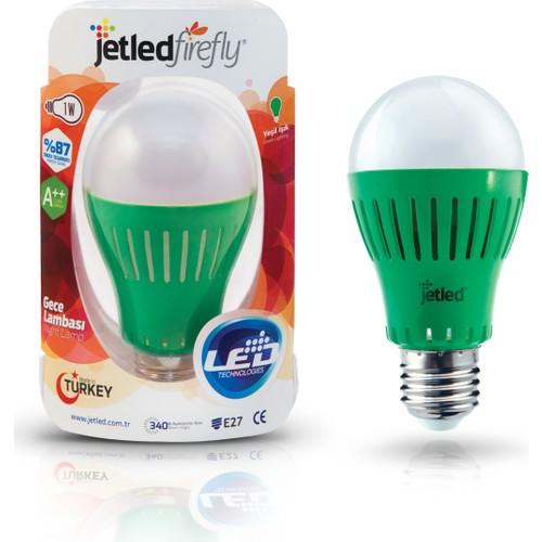 Jetled Firefly Yeşil Gece Lambası 1 Watt E27