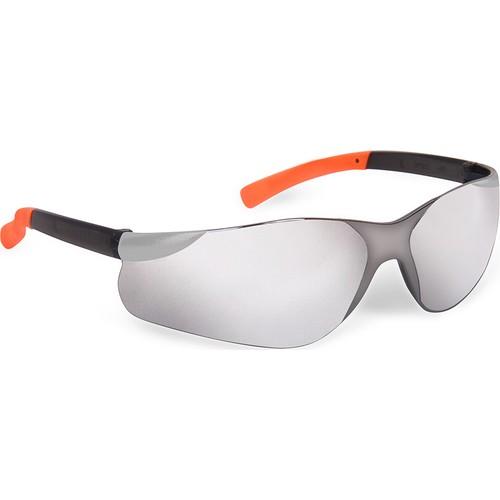 Aynalı Koruyucu Gözlük Cross 602 Füme Renk Ayna Kaplı Lens