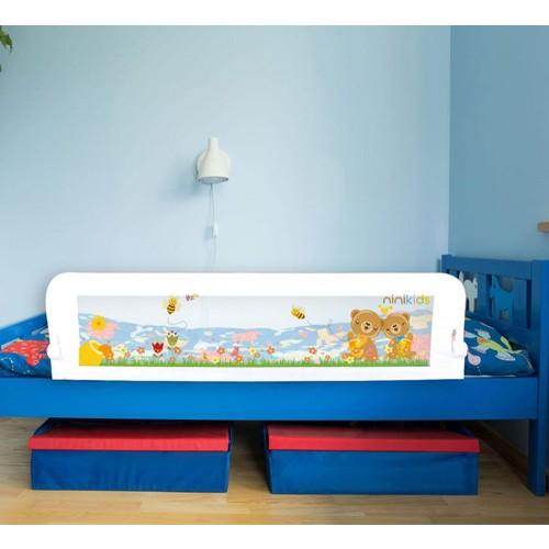 Ninikids Katlanabilir Çocuk Yatak Bariyeri - 140 X 52 Cm