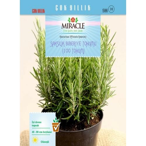 Miracle Saksılık Biberiye Tohumu (100 tohum)