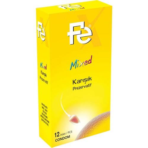 Fe Mixed Karışık Prezervatif 12li