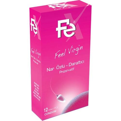 Fe Feel Virgin Nar Özlü Prezervatif 12li