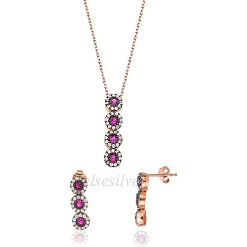 Else Silver Pembe Su Yolu Set