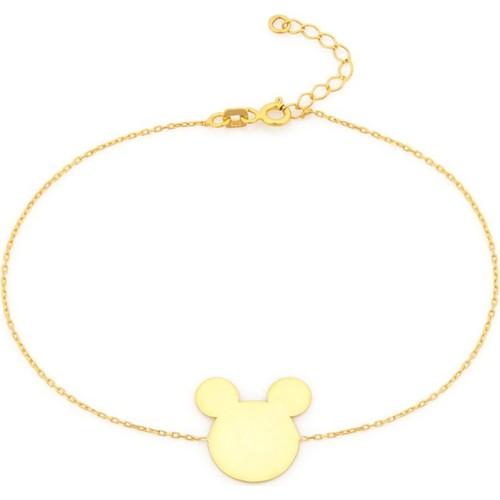 Else Silver Micky Mouse Bileklik