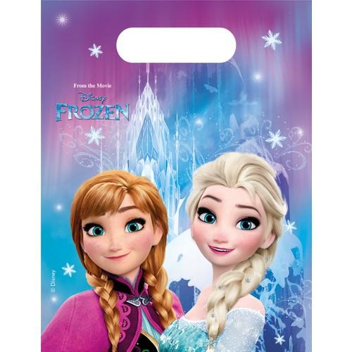 KullanAtMarket Frozen Buz Isiltisi Parti Çantasi - 6 Adet