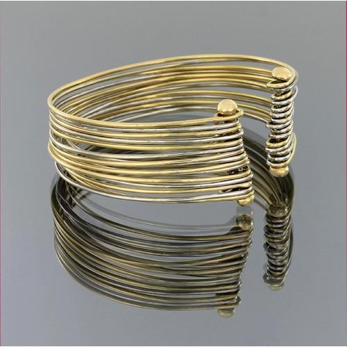 Tuğrul Kuyumculuk Taşsız Kelepçe Altın Bilezik T003806