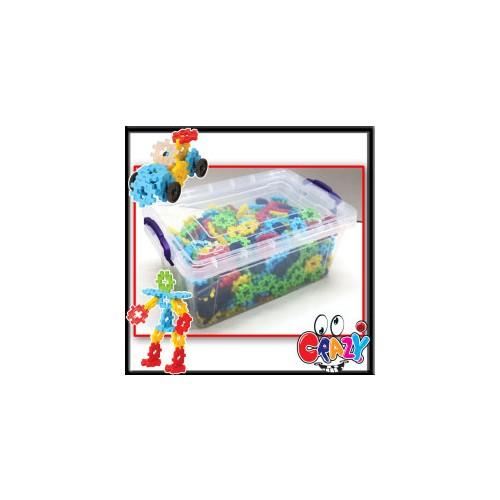 Akçiçek 500 Parça CRAZY® Plastik Kapta