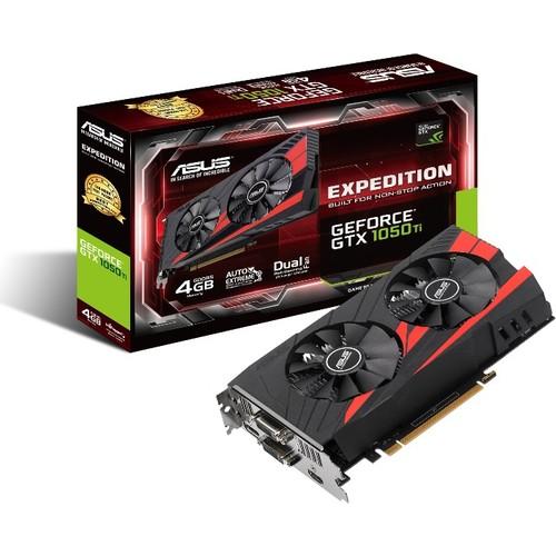 Asus EXPEDITION Geforce GTX 1050 Ti 4GB 128Bit GDDR5 PCI-E 3.0 Ekran Kartı (EX-GTX1050TI-4G)