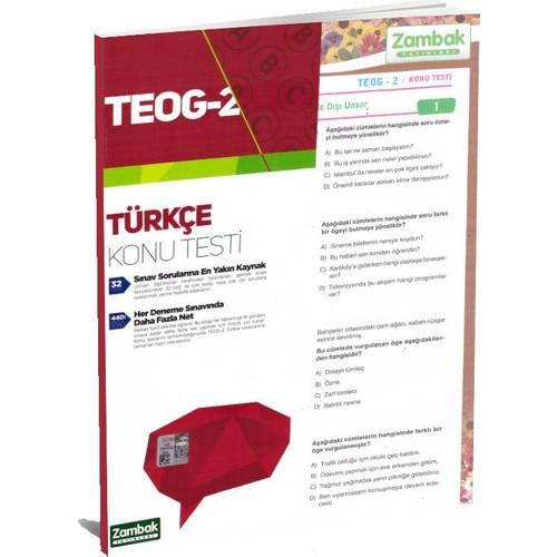 8.Sınıf Teog-2 Türkçe Konu Testleri