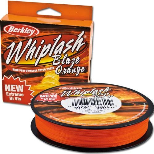 Berkley Whiplash Blaze Orange 110Mt Örgü Misina 0,28Mm 110 Mt