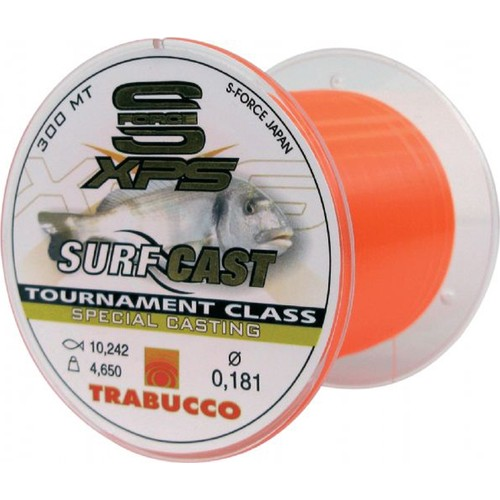 Trabucco S-Force Sf Xps Surf Cast 300 M Misina 0,30 Mm