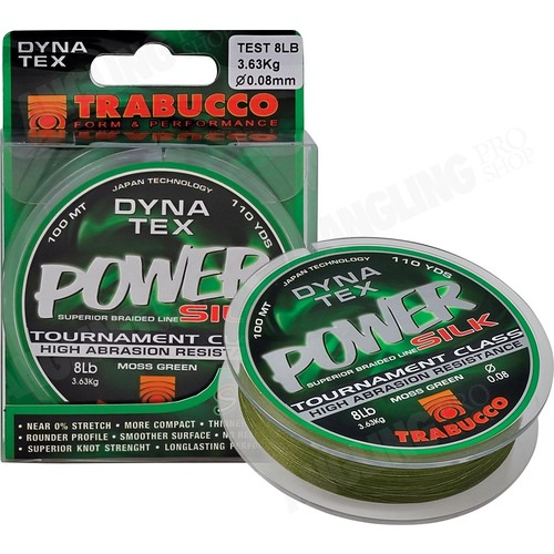 Trabucco D-Tex Power Silk Örgü Misina 0,08 Mm 100 M
