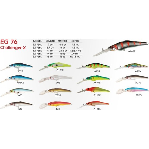 Strike Pro Challenger X Eg-76Dl 005 11 Cm