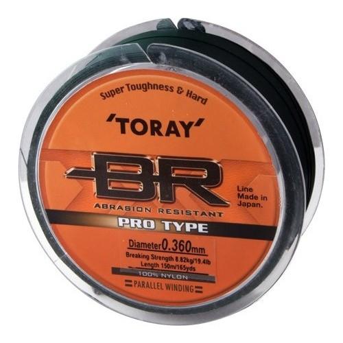 Toray Br Pro Type 0,305 Mm 150 M / Koyu Yeşil
