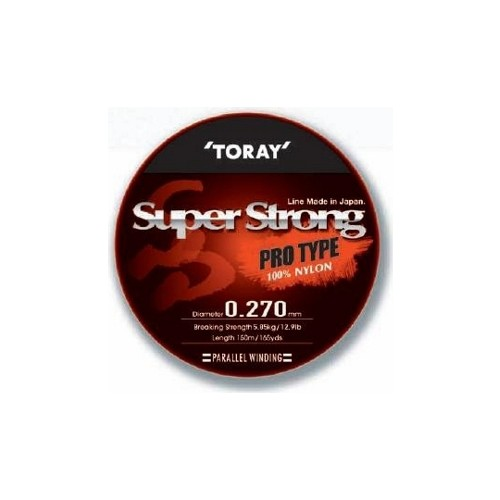 Toray Super Strong Pro Type 0,295 Mm 150 M / Şeffaf