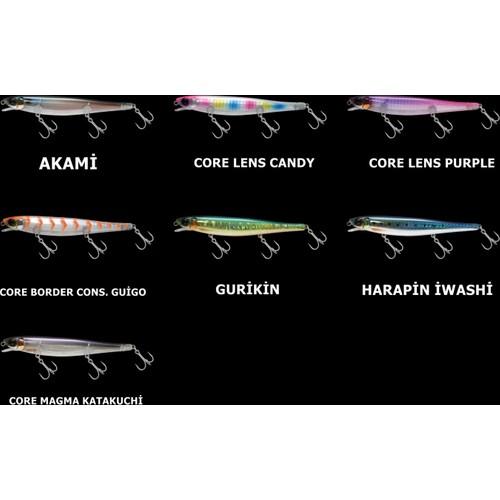 Jackall Suren 120S Suni Yem Core Lens Purple