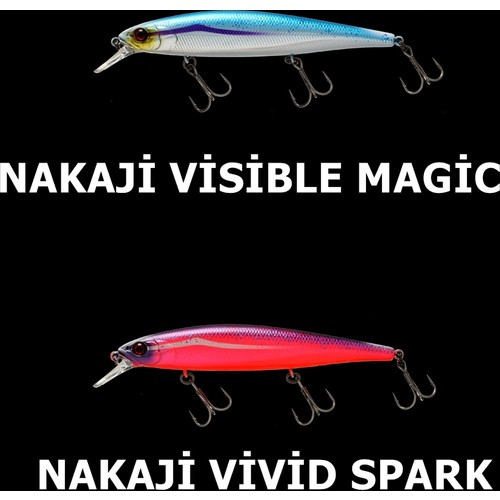 Jackall Mag Squad 115 F Suni Yem Nakaji Visible Magic