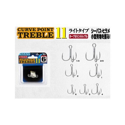 Shout Curve Point Treble 11 Üçlü İğne No:6