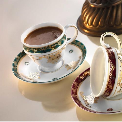 Arte Bianco Alin Kahve Fincan Takımı