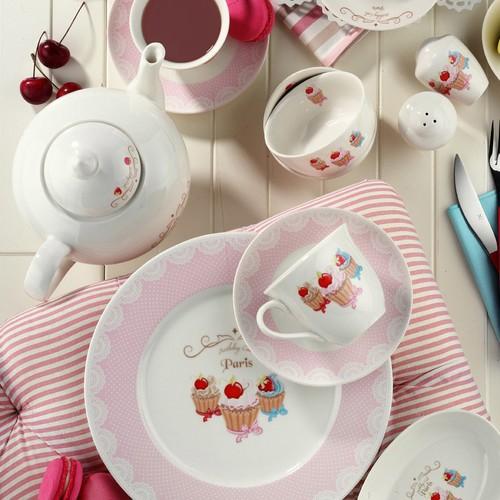 Kütahya Porselen 33 Parça 8362 Desen Kahvaltı Takımı
