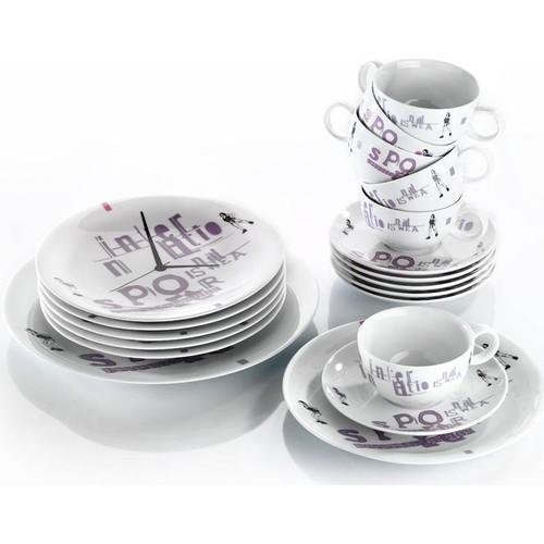 Kütahya Porselen 6 Kişilik 6948 Desen İkram Seti