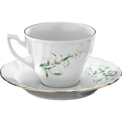 Kütahya Porselen Diana Çiçekli Kahve Takımı