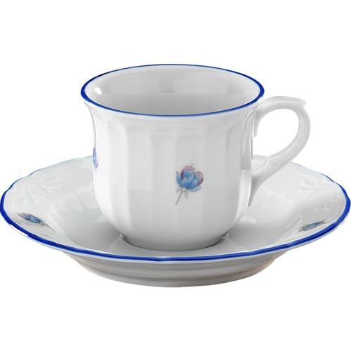 Kütahya Porselen Mina Mavi Kahve Takımı