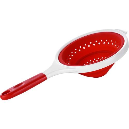 Kütahya Porselen Slikon Süzgeç Kırmızı