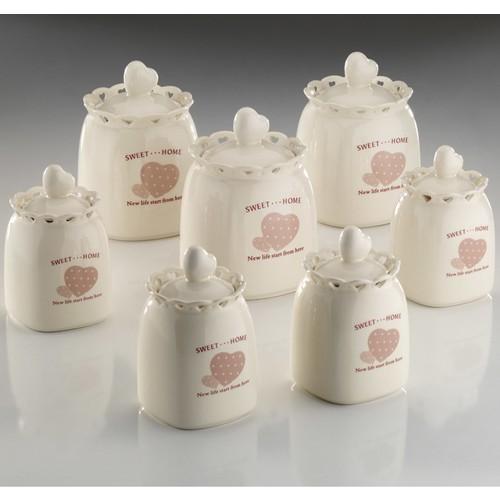 Kütahya Porselen Sweet Home 14 Parça Baharat Takımı
