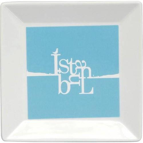 Kütahya Porselen Perge 25391 Dekor 18 Cm İstanbul Tabak