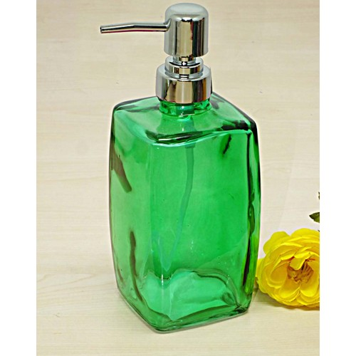 Kitchen Love Renkli Cam Sıvı Sabunluk