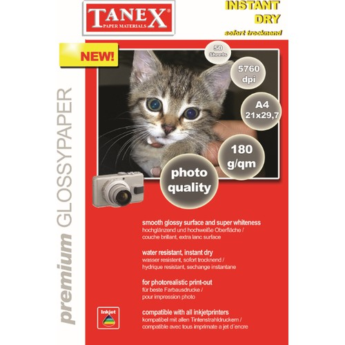 Tanex 180 gr A4 Fotoğraf Kağıdı 25 Adet