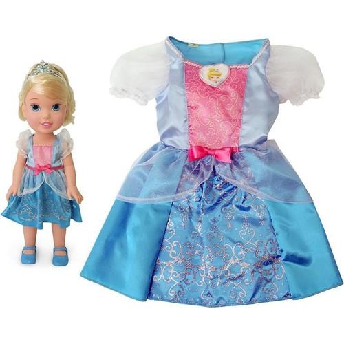 Jakks Pacific Disney Prenses Cinderella Kostümlü Ve Bebek Seti 2 - 4 Yaş 2-4 Yaş Arası - Cinderella