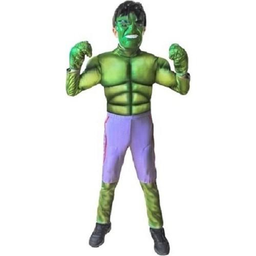 Marvel Heroes Hulk Çocuk Kostümü 4-6 Yaş Hulk - 4-6 Yaş Arası