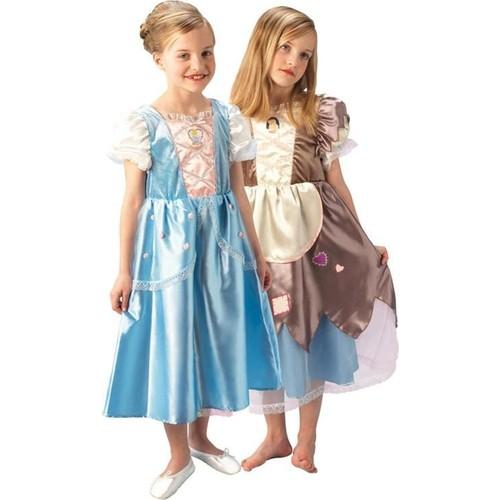 Rubies Prenses Cinderella Çocuk Kostüm Platinium 5-6 Yaş 5- 6 Yaş - Cinderella