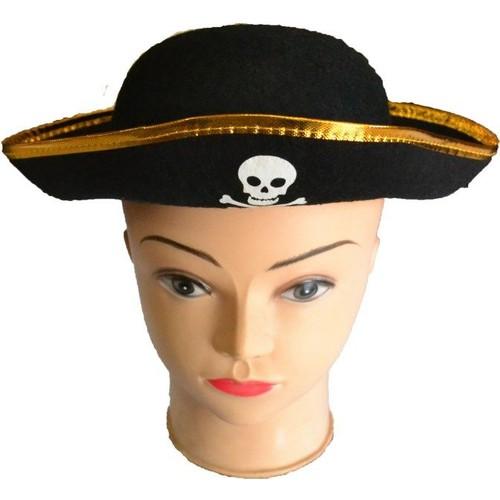 Bindallı Kostüm Korsan Çocuk Şapka