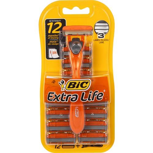Bic Traş Aleti Extra Life 12 Kartuş