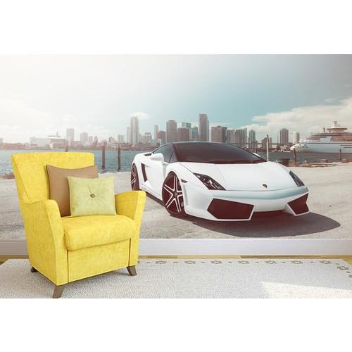 Lamborghini 001 Duvar Sticker 350x250cm