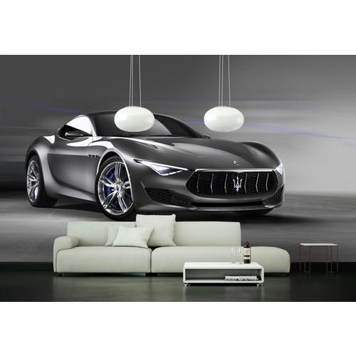 Maserati 001 Duvar Sticker 250x250cm