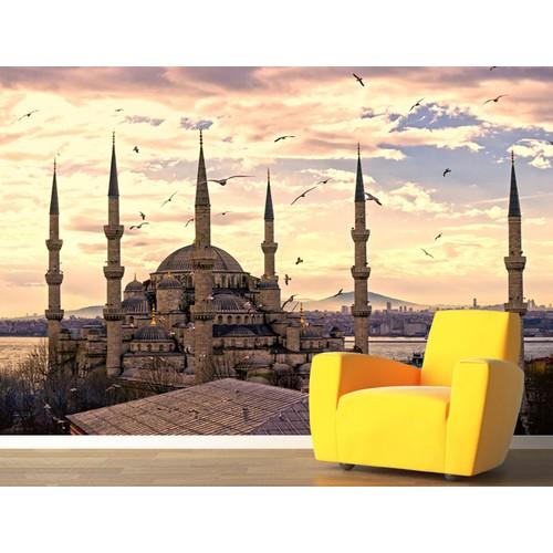 Sultan Ahmet Mosque Duvar Sticker 250x250cm