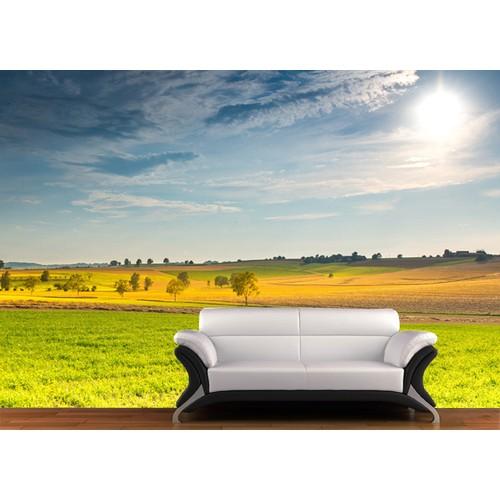 Güneş Duvar Sticker 250x250cm