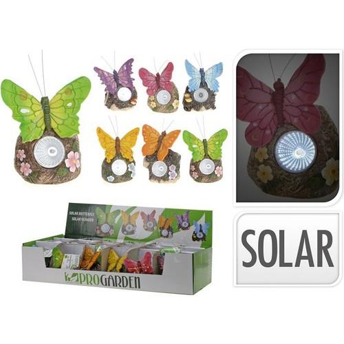 Koopman Zq252714560 Solar Kelebek 8.5*6*12 Cm