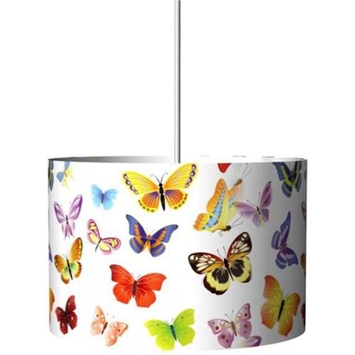 Nısa Luce Nısa Kelebek Desenlı Cam Sarkıt Kahverengı *12
