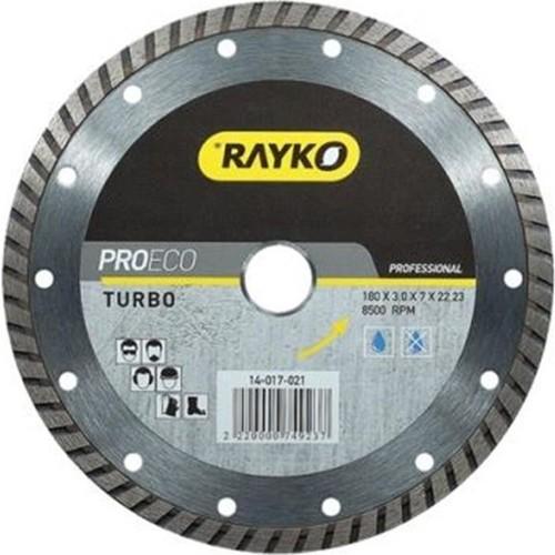 Rayko Elmas Testere 115*2,5*7*22,2 Turbo Proeco