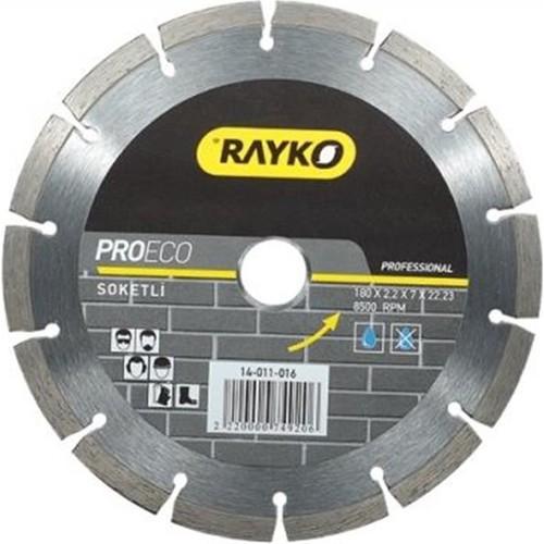 Rayko Elmas Testere 180*2,2*7*22,2 Soketlı Proeco