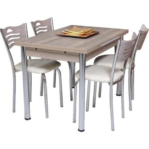 Aras Ars-39 Kordoba 70X110 Acılır Masa+4 Sandalye
