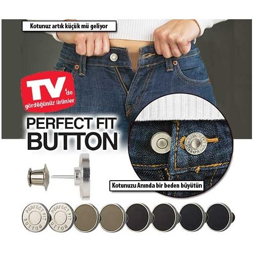 Original Boutique Perfect Fıt Button Yedek Kot Düğmesi Seti